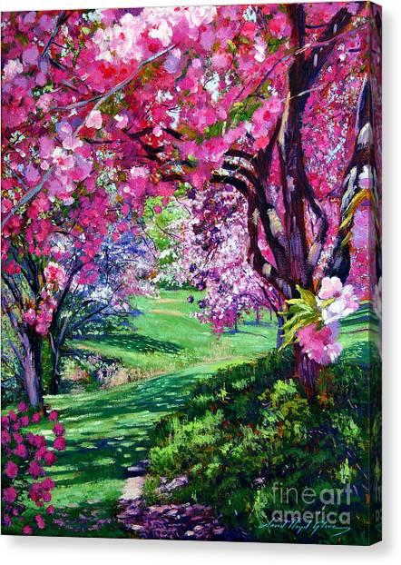 Sakura Romance Canvas Print