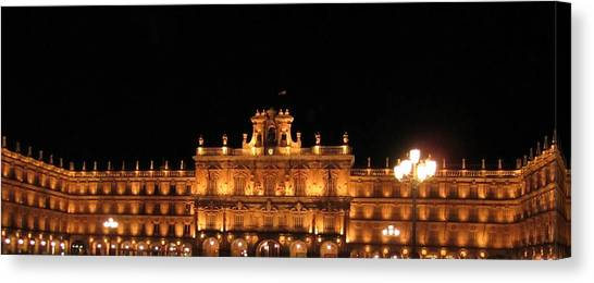 Salamanca Plaza Iv Spain Canvas Print