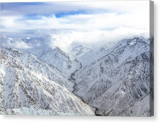 Salang Pass Canvas Print