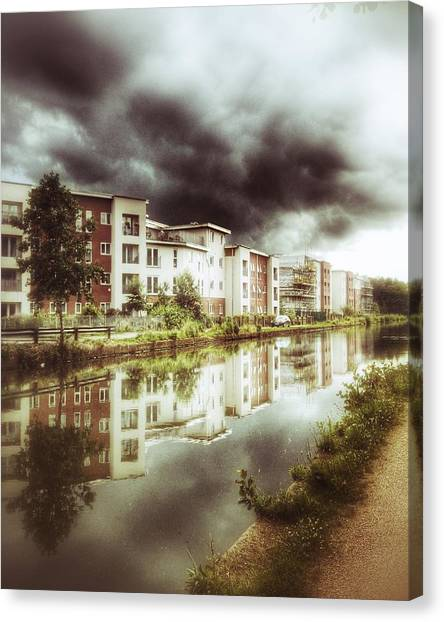 Sale Canal Canvas Print by YoursByShores Isabella Shores
