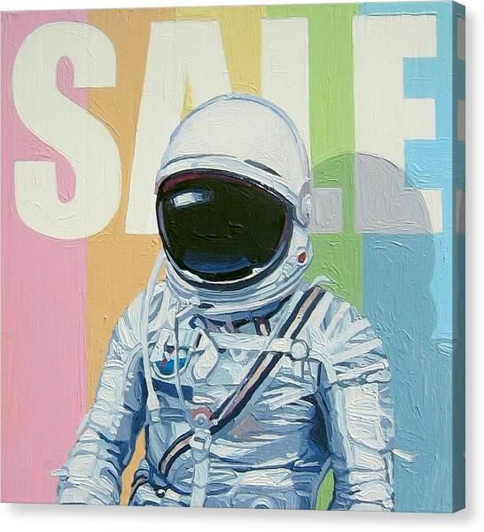 Astronauts Canvas Print - Sale by Scott Listfield