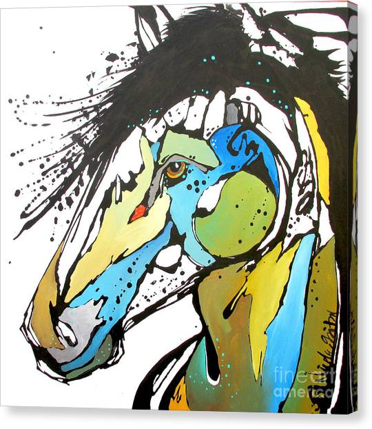 Sallie Canvas Print