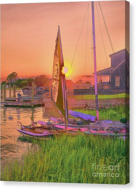 Sailor's Rest Canvas Print