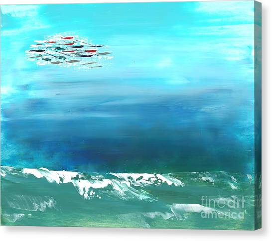 Salt Air Canvas Print