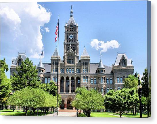 Salt Lake City County Building Canvas Print