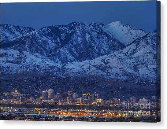 Salt Lake City Canvas Print