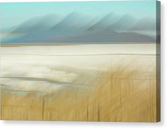 Salt Lake Salt  Canvas Print