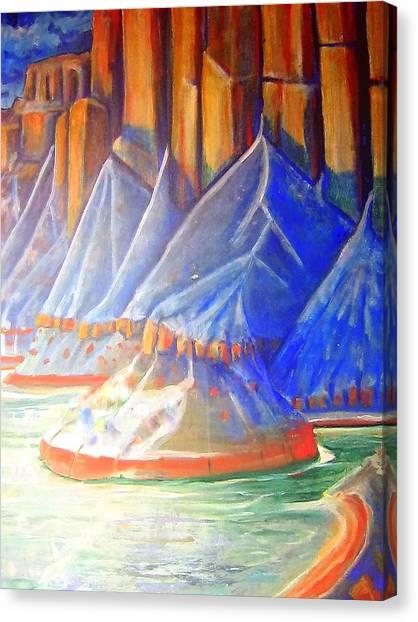 Salt Lake Canvas Print
