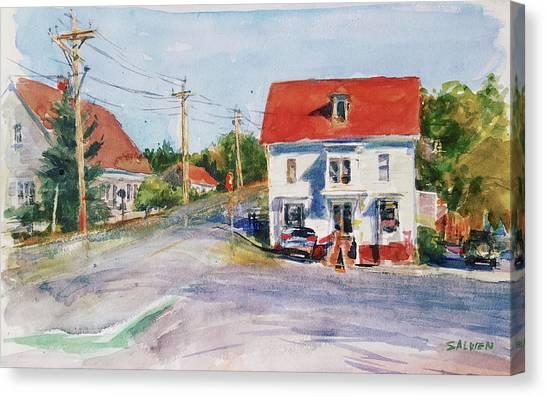 Salty Market, North Truro Canvas Print