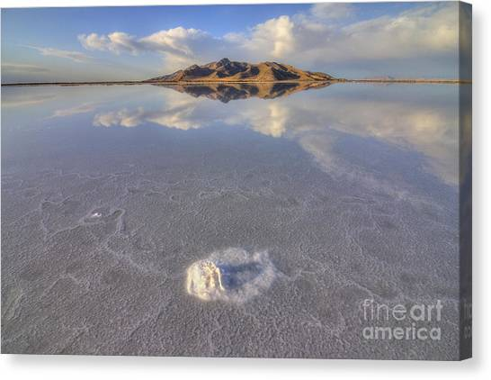 Salty Reflection Canvas Print