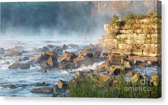 Saluda River At Daybreak Canvas Print