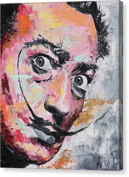 Salvador Dali Canvas Print - Salvador Dali by Richard Day