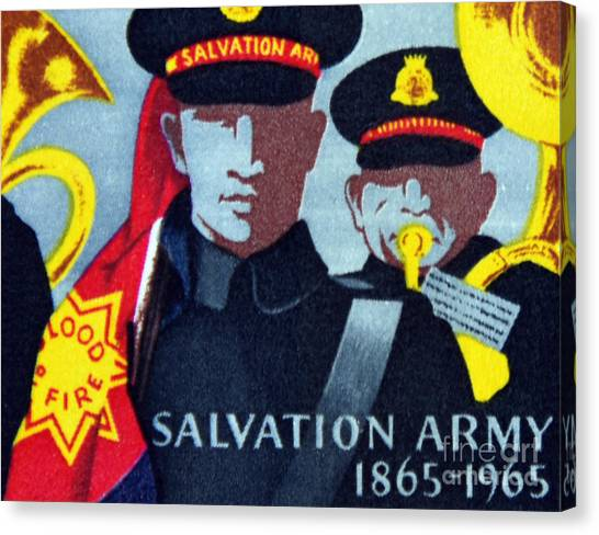 Salvation Army. Canvas Print by Stan Pritchard