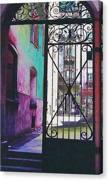 Salzburg Gate Canvas Print