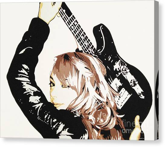 Samantha Fish Canvas Print