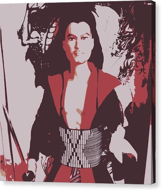 Samarai Ken Canvas Print