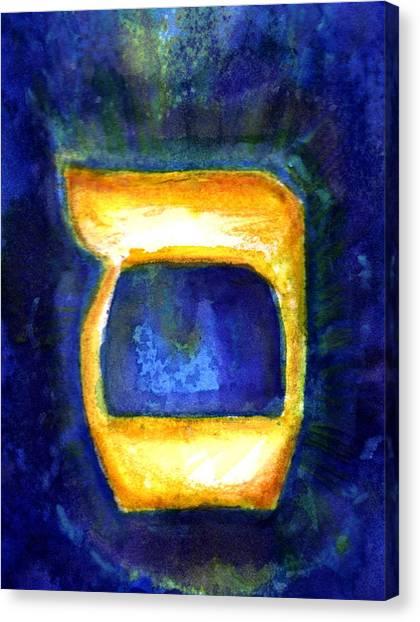 Samech Canvas Print