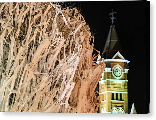 Samford Hall And Rolling Toomer's Canvas Print by JC Findley
