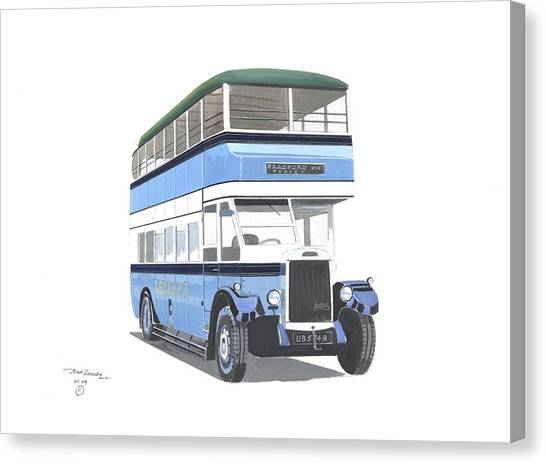 Samuel Ledgard  Leyland Canvas Print by John Kinsley