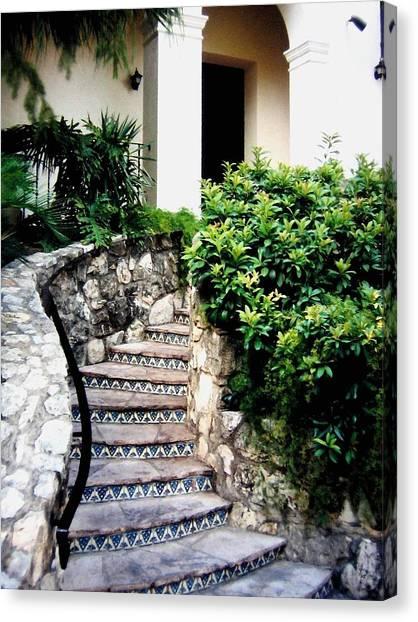 San Antonio Stairway Canvas Print