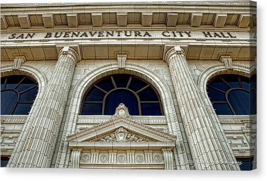 San Buenaventura City Hall Canvas Print