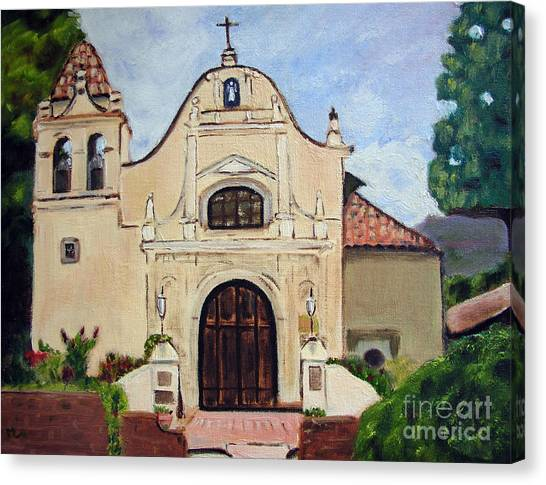 San Carlos Cathedral Canvas Print