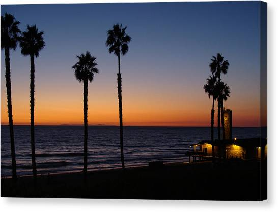 San Clemente Sunset Canvas Print by Ty Nichols