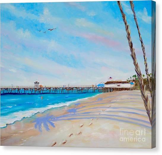 San Clemente Walk Canvas Print