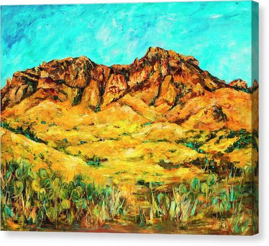 San Cristo Mountains Canvas Print