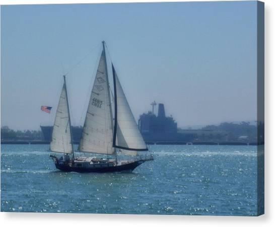 San Diego Bay Canvas Print by JAMART Photography