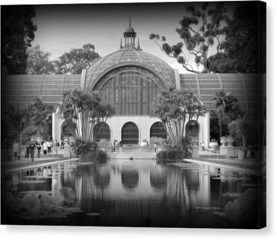The Prado Canvas Print - San Diego Botanical Foundation by Karyn Robinson
