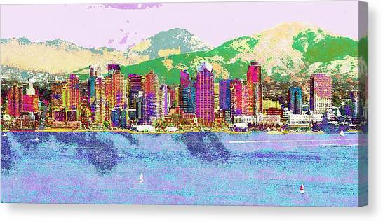 San Diego Canvas Print by Jeff Gibford