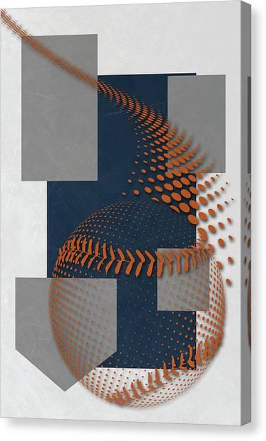 San Diego Padres Canvas Print - San Diego Padres Art by Joe Hamilton