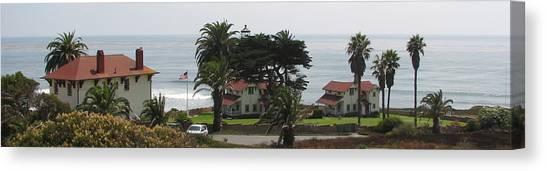 San Diego Pt Loma Lighthouse Canvas Print