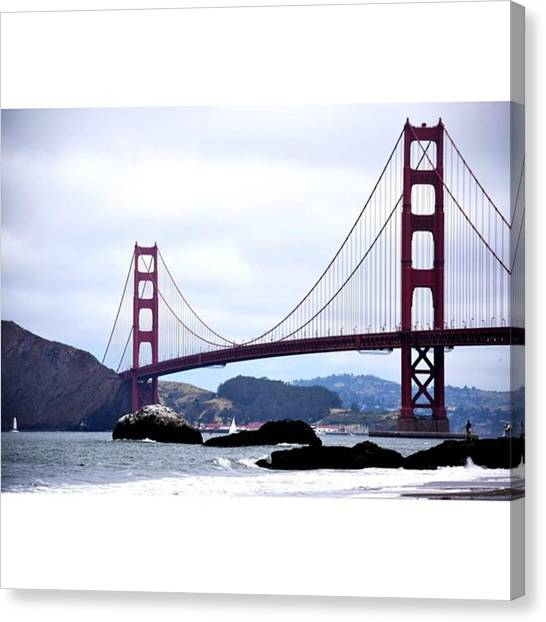 Scotty Canvas Print - San Fran From The Shores #sanfran by Scotty Brown