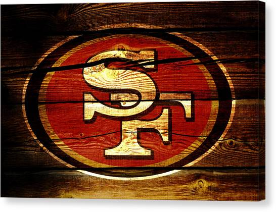 Jerry Rice Canvas Print - San Francisco 49ers 3b by Brian Reaves