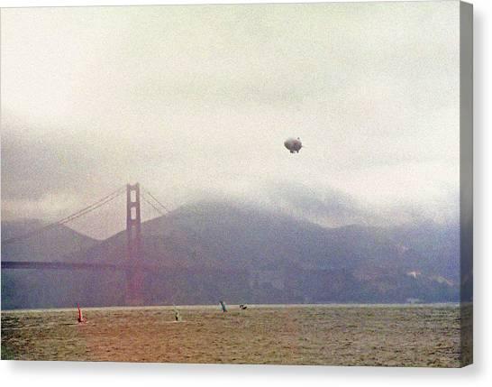 San Francisco Bay Recreation 1 Canvas Print by Steve Ohlsen