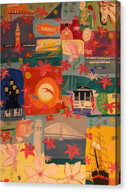 San Francisco Canvas Print by Biagio Civale