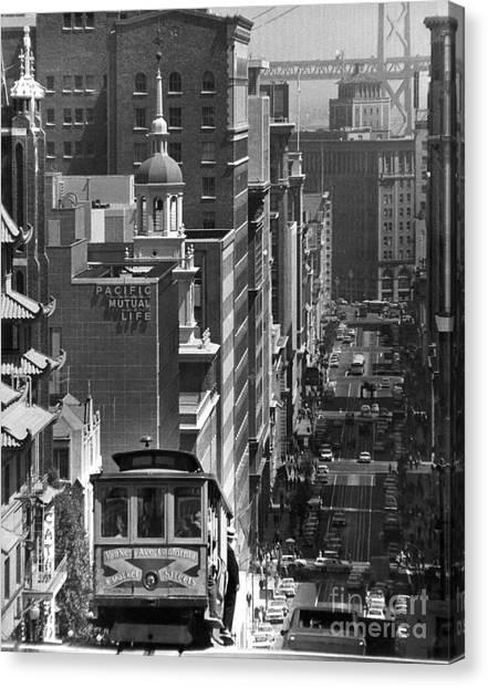 Aod Canvas Print - San Francisco, C1950 by Granger