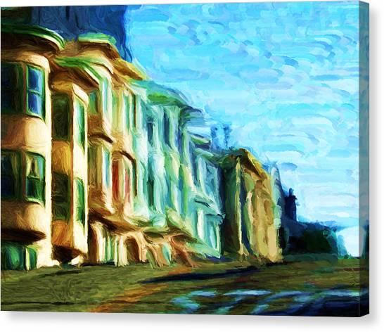 Frisco Street Homes Canvas Print
