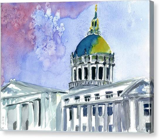 San Francisco City Hall Canvas Print