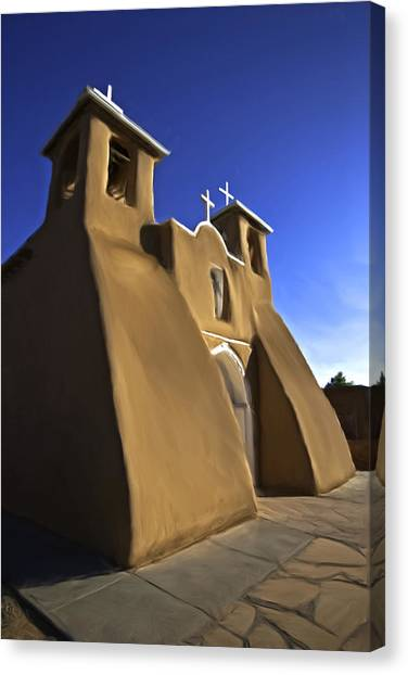 San Francisco De Asis Church  Canvas Print