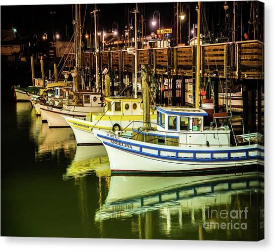San Francisco Fisherman's Wharf Canvas Print