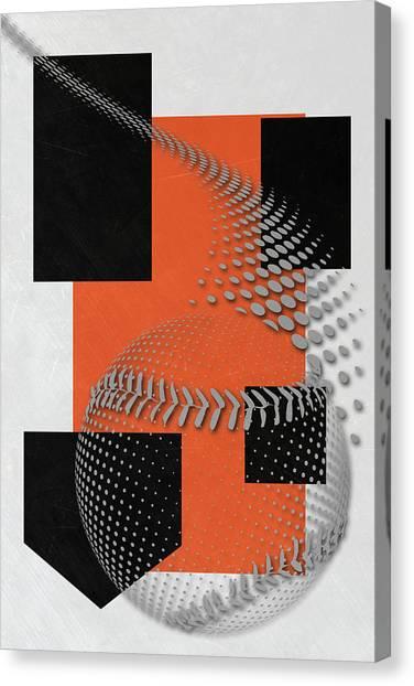 San Francisco Giants Canvas Print - San Francisco Giants Art by Joe Hamilton