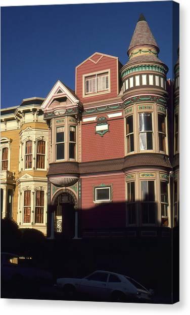 San Francisco Haight Ashbury - Photo Art Canvas Print