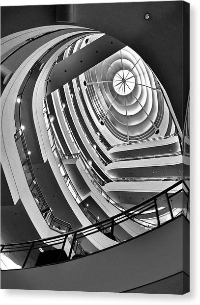 San Francisco - Nordstrom Department Store Architecture Canvas Print