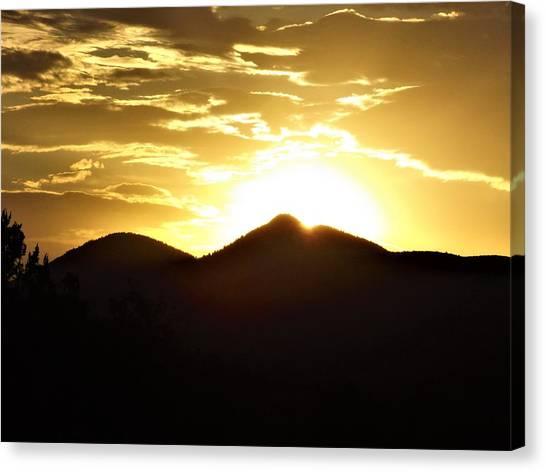 San Francisco Peaks At Sunset Canvas Print