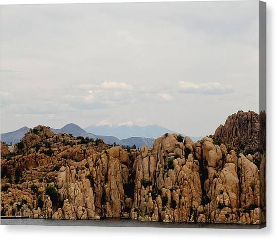 Canvas Print - San Francisco Peaks by Marilyn Smith
