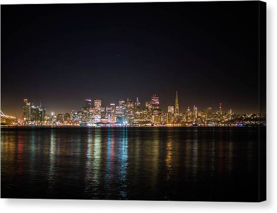 San Francisco Shot Canvas Print