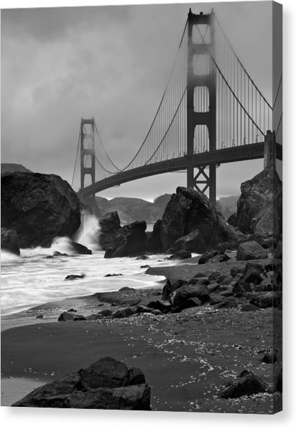 San Francisco Summer Canvas Print